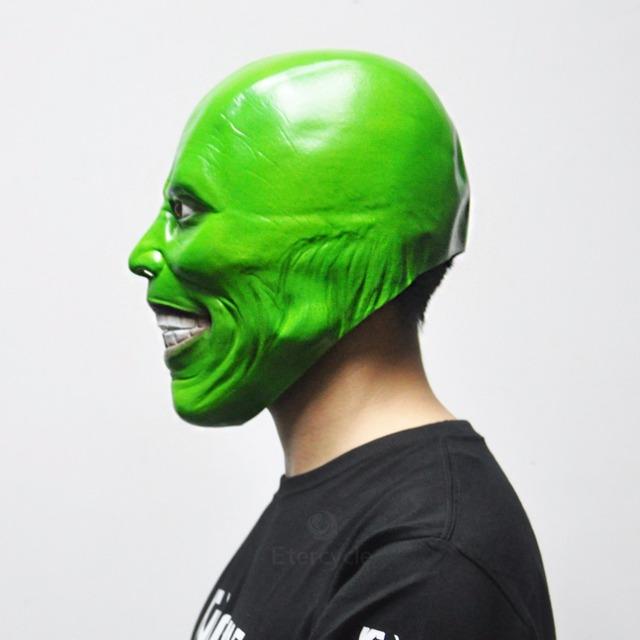 The Mask Jim Carrey Latex Mask Cosplay