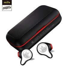 Mifo O2 Bluetooth 5,0 настоящие беспроводные наушники вкладыши водонепроницаемые Bluetooth наушники стерео звук спортивные наушники с зарядным устройством