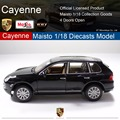 Cayenne 1:18 Maisto Toy Car Model Simulation Alloy Car Models Boy Toy Car Limousine Static Cars Gift Collectables