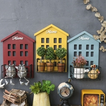 Wall Mounted Planter Basket For Mini Plants