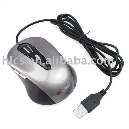 Free Shipping USB Scrolling Wheel Laptop Notebook 800 DPI High Precise Optical Mouse Mice#1261