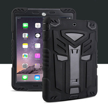 For apple ipad air 9 7 Case Heavy Duty Hybrid Shockproof Silicone Protect Film For ipad