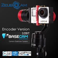 Zeuscam h-g4 handheld gopro hero4 constante cardán codificador