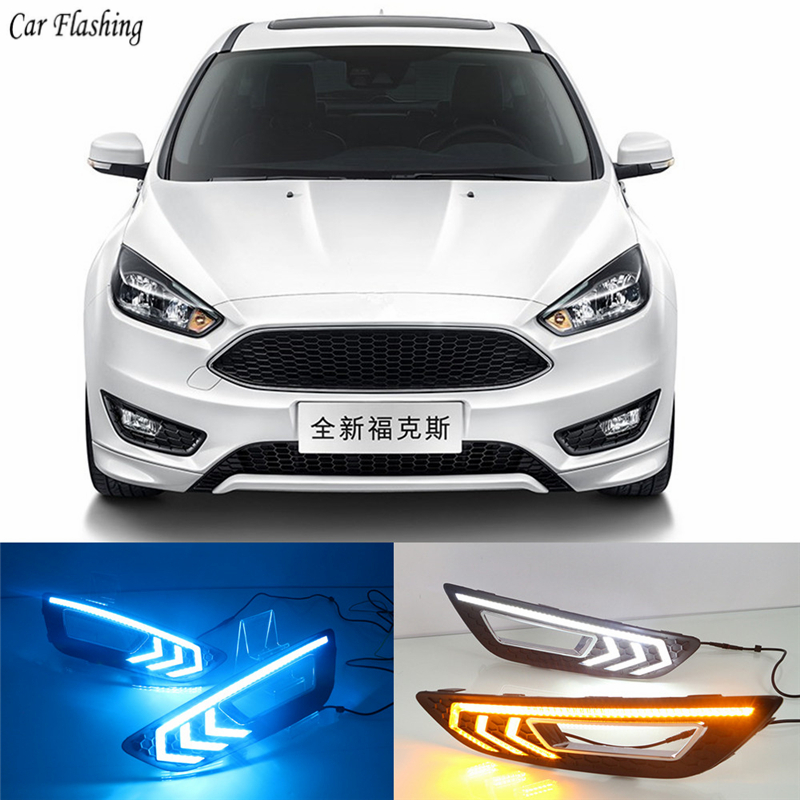 For Ford Focus 3 mk3 2015 2016 2017 2018 Turn signal and dimming style Relay LED