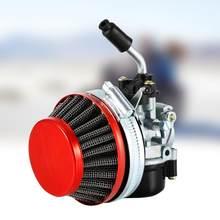 Denizaşırı yarış karbüratör 2 zamanlı motor motorlu bisiklet ATV Quad 40cc 50cc 80cc otomobiller