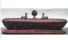 Kupfer Messing CHINESISCHEN handwerk dekoration Asiatischen handwerk kupfer Bronze kunst Tibetischen liegen buddha mit instrumente reparatur tibetischen