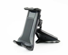 Car CD Player Slot Mount Cradle Tablet Phone Holder Stands For Wiko Lenny 4/Lenny 4 Plus/View Prime/Tommy 2 Plus/Robby 2