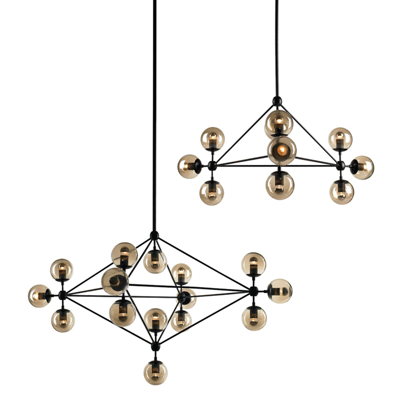 DNA structure glass ball creative pendant light 10 15 21 light Globe Branching Nordic Art style Decoration pendant hanging light uti caused by staphylococcus dna in comparison to candida dna