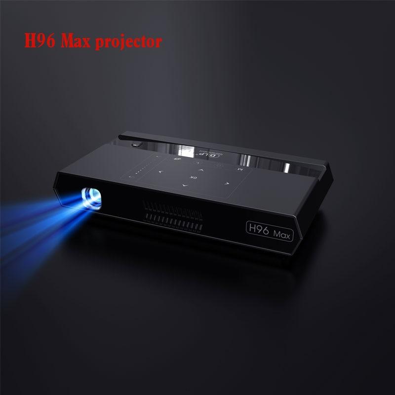 2019 Nieuwe Projector H96 Max Projector S912 2 Gb En 16 Gb Dual Wifi Mini Dlp Projector Met Bt Speaker Android 6.0 Projector Heilzaam Voor Het Sperma