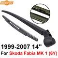 Mk qeepei lâmina traseira e braço para skoda fabia 1 (6A) 1999-2007 14 5 ''porta estate Iso9000 Alta Qualidade de Borracha Natural
