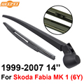 QEEPEI Rear Wiper Blade and Arm For Skoda Fabia MK 1 (6Y) 1999-2007 14'' 5 door estate High Quality Iso9000 Natural Rubber