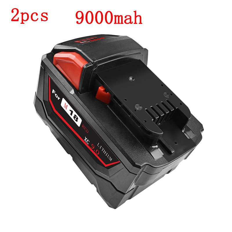 Rechargeable Li-ion Battery for Milwaukee M18 <font><b>6000mAh</b></font> 9000mAh Power Tools Replacement 48-11-1815 48-11-1850 48-11-1840 Battery image