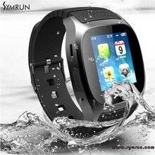 Symrun 2016 Mode Bluetooth Smartwatch M26 Smart Uhr Mit Alitmeter Musik-player Schrittzähler Sport Smartwatch