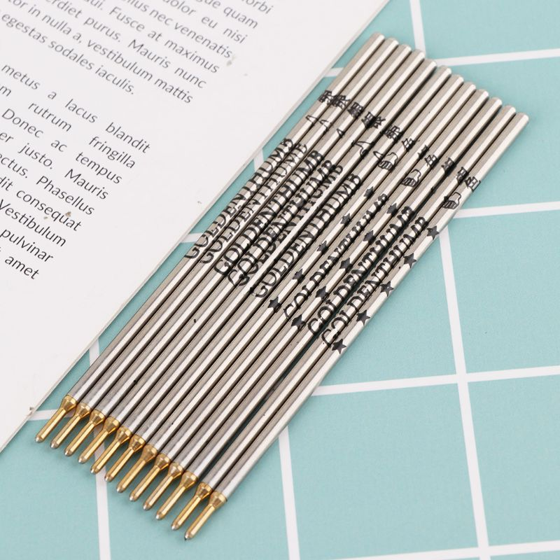 12 Pcs/Box Thumb Silver Iron Pipe Refill Clothing Leather Cloth Cutting Positioning Special Mark Line Pen Silver Rod C26