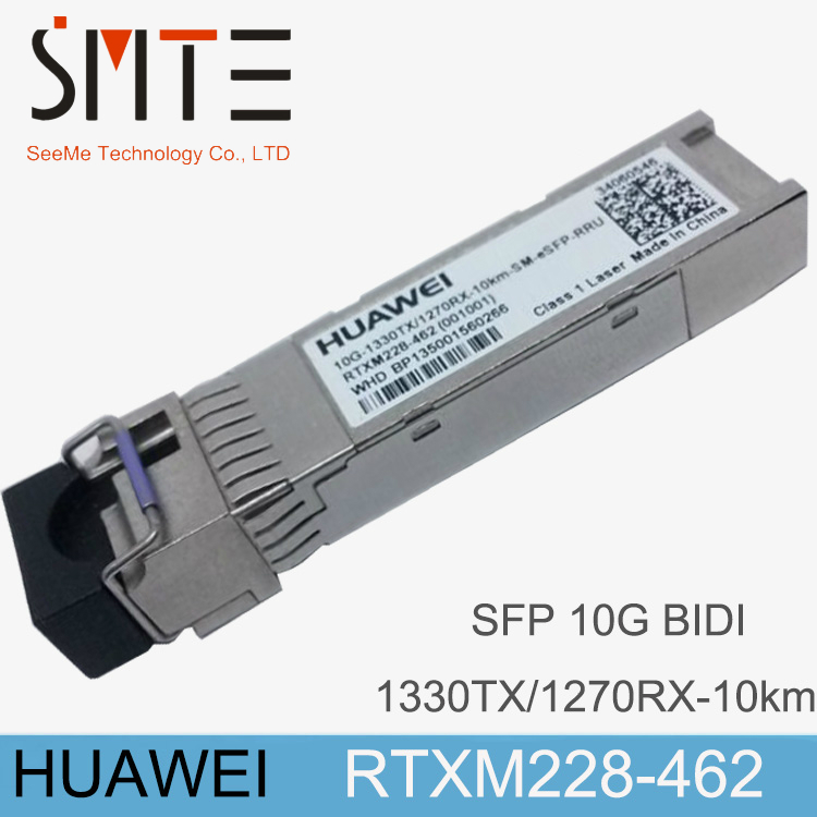 HW RTXM228-462 Single-mode Module 10G-1330TX-1270RX-10KM-SM-ESFP-RRUHW RTXM228-462 Single-mode Module 10G-1330TX-1270RX-10KM-SM-ESFP-RRU