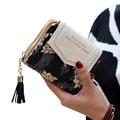 Carteras mujer 2016 Mulheres sacos de Moda Bolsa Titular do Cartão de Embreagem Carteira Mulheres Senhoras Curtas Zipper Carteiras para mujer