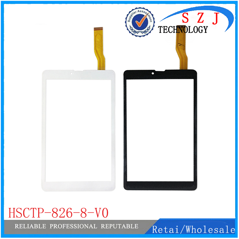 New 8'' inch For HSCTP-826-8-V0 2016.08.29 TX15 RX10 FHX Tablet touch screen digitizer panel Sensor Free Shipping 10pcs/lot black new 8 tablet pc yj314fpc v0 fhx authentic touch screen handwriting screen multi point capacitive screen external screen