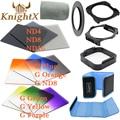 KnightX 52mm 58mm 67MM  Color ND Lens Filter series For cokin p set Nikon canon D3200 D5100 D5200 D3100 d3300 d5300 70d 1100d