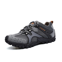 Outdoor Sports Hiking Shoes For Men Mesh Mountaineering Hunting Trekking Camping Summer Breathable Upstream