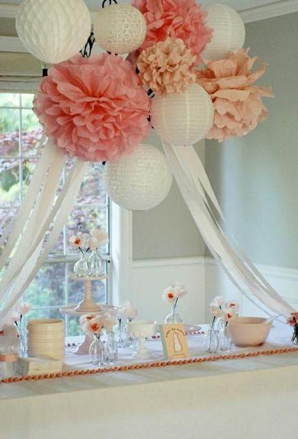 Hagalo Usted Mismo Flores Decorativas Multicolores Grandes De Papel