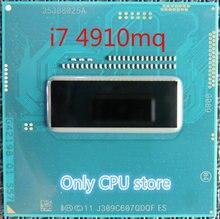 オリジナルインテルコア I7 4910MQ Qs バージョン QDQF CPU I7 4910MQ プロセッサ 2.9 ghz L3 = 8 メートルクアッドコア送料無料