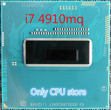 Orijinal Intel Core I7 4910MQ QS sürüm QDQF CPU I7 4910MQ İşlemci 2.9GHz L3 = 8M dört çekirdekli ücretsiz kargo