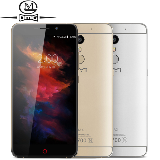 "Original UMI MAX smartphone Helio P10 Octa Core 4000mAh Android 6.0 Fingerprint 5.5"" 4G LTE 1920*1080 Dual sim Mobile Cell Phone"
