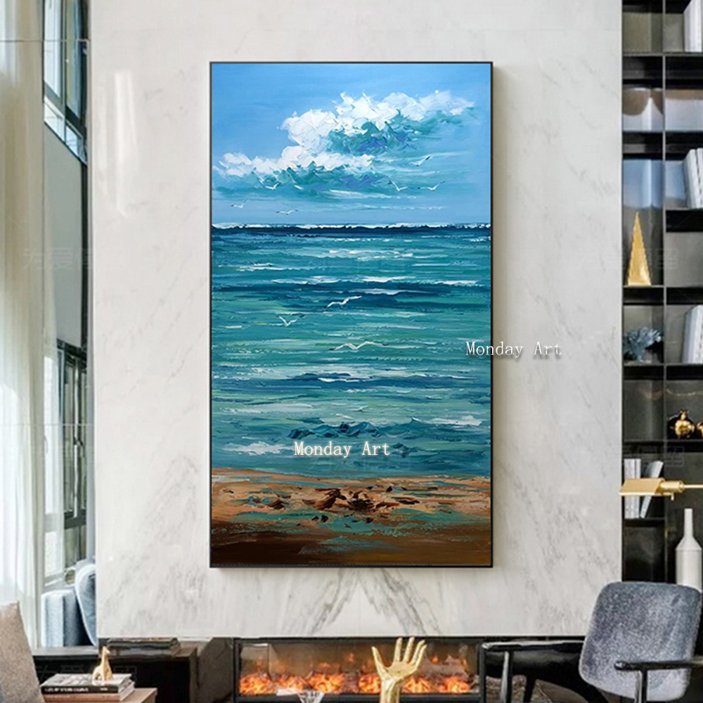 Salvador Dali Canvas Art Handpainted Poster The Waves Book Sailboat Picture painting Diary of Discovery by Vladimir Kush
