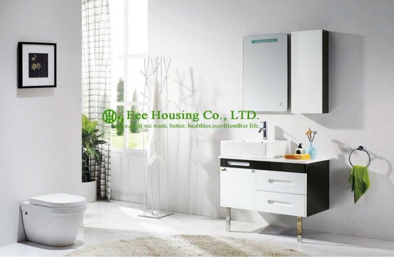 Bathroom Cabinet Best Selling China Supplier Modern Wall Hung Wash Basin Allen Roth Mirror Solid Wood Bathroom Vanity Cabinets