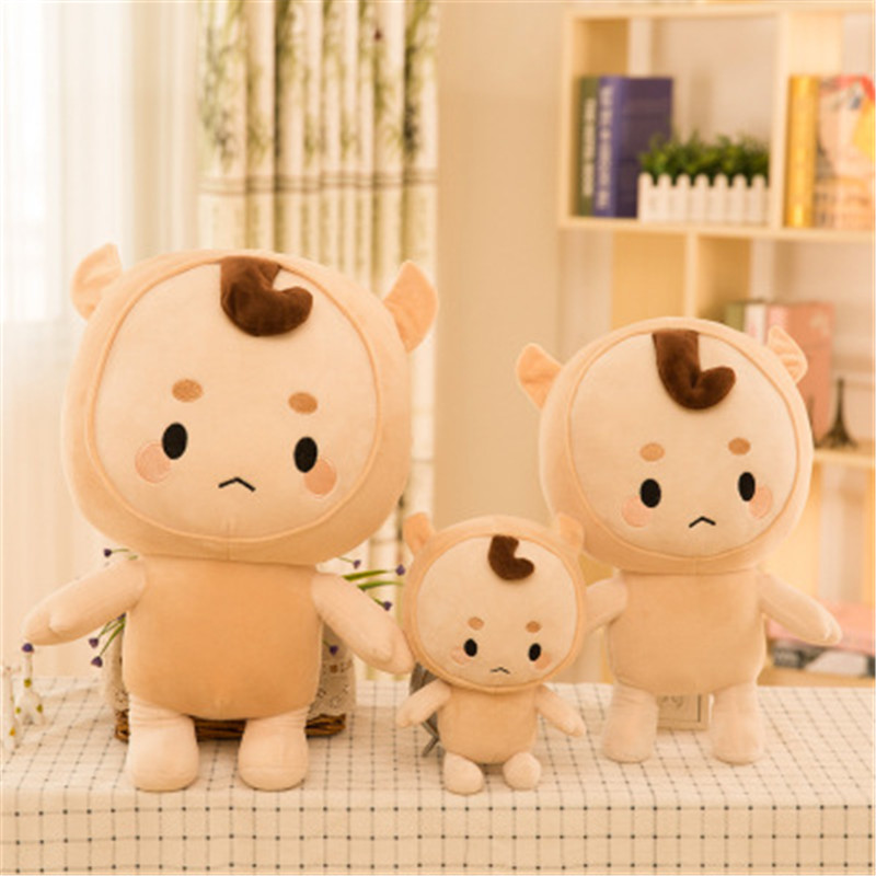 Permalink to New Plush Creative Plush Toy Cute Fairytale God Ghost with The Same Paragraph Buckwheat Soft and Comfortable Gift Popular Toys
