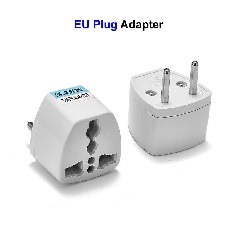 Eu Plug Adapter Converter Us Au Uk To European Euro Europe Ac Travel Power Adapter Electric