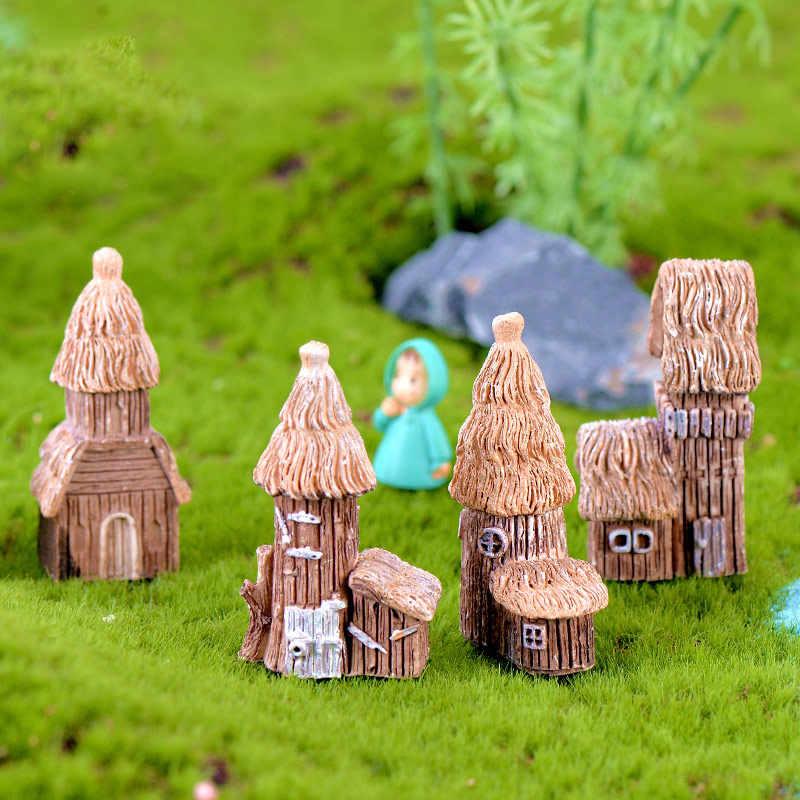 1 pièces Vintage artificiel piscine tour Miniature maison fée jardin décoration de la maison Mini artisanat Micro aménagement paysager décor