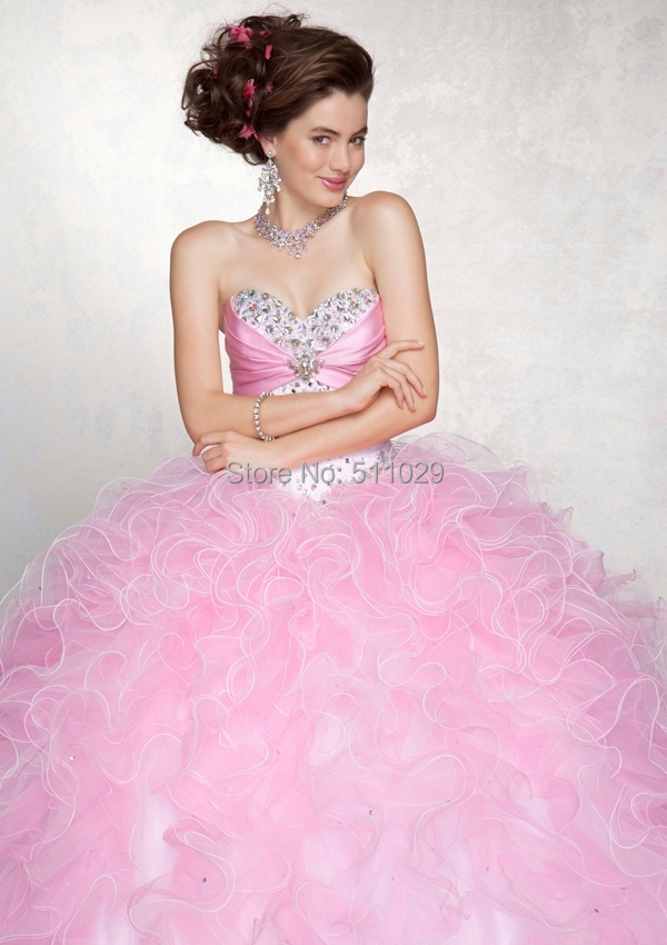 FREE SHIPPING QU 106 Fluffy prom dresses adult cinderella dresses ...