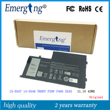 11.1V 43WH New Original  Laptop Battery for Dell Inspiron 15-5547 14-5548 TRHFF P39F P49G 5545
