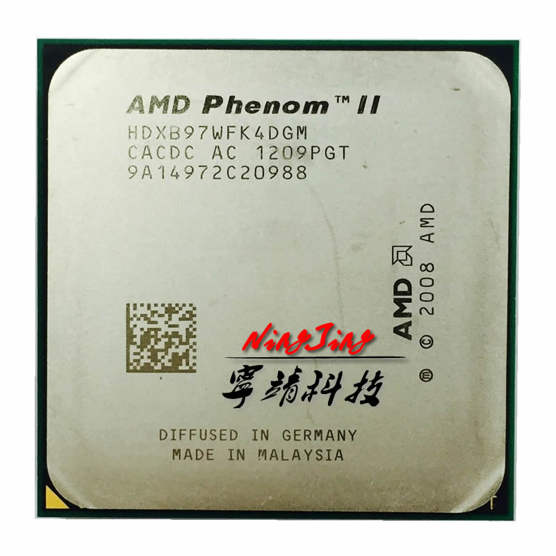 Процессор AMD Phenom II X4 B97/HDXB97WFK4DGM/AM2 + и AM3/938pin/3,2G/95W/6M