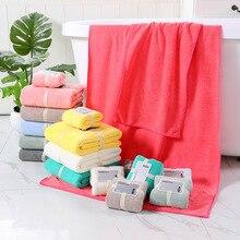 Набор полотенец 1 шт банное полотенце и 1 шт мягкое полотенце для лица удобное Коралловое флисовое мужское женское семейное банное полотенце для рук
