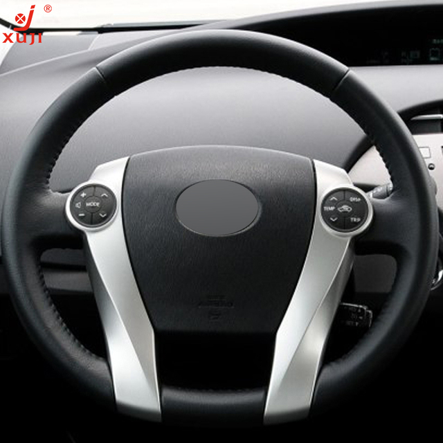 2015 prius black. xuji black leather handstitched car steering wheel cover for toyota prius 20092015 2015