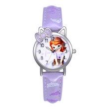Disney Kids Watches Children Watches Princess Sofia Fashion Quite Wristwatches women watch Clock