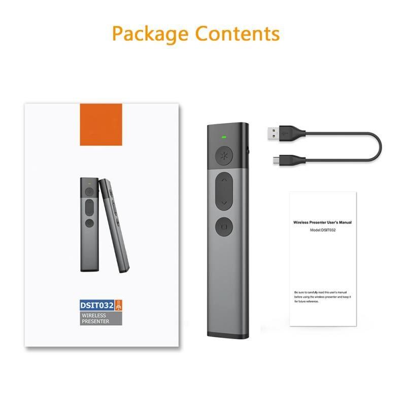 Image 5 - Лазерная указка Флип ручка для презентаций Powerpoint 2,4 ГГц USB беспроводной Презентер PPT пульт дистанционного управления с зеленым лазером-in Пульты ДУ from Бытовая электроника