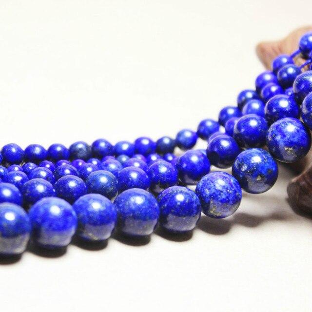 wholesale natural stone dye lapis lazuli beads for jewelry making
