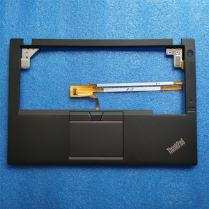 Image 1 - Neue Original für Lenovo ThinkPad X250 X250i X240 Palmrest Abdeckung Ober Fall + 3 Drei Tasten Touchpad + Fingerprint + cable00HT390 01YU100