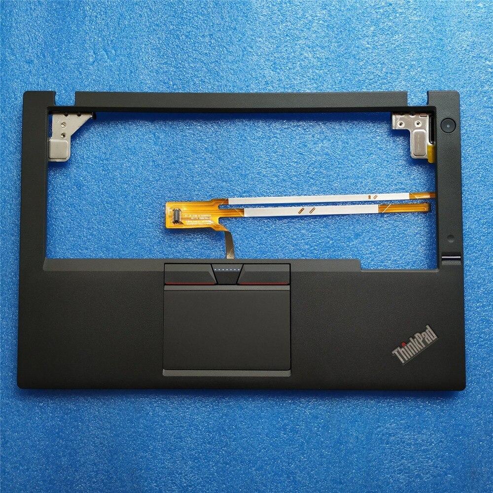 Nouveau Original pour Lenovo ThinkPad X250 X250i X240 Palmrest Cover boîtier supérieur + 3 trois touches Touchpad + empreinte digitale + Cable00HT390 01YU100
