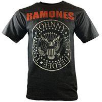 RAMONES Vintage T-shirt Rock Band Konzert HEY HO LETS GO Album Abdeckung