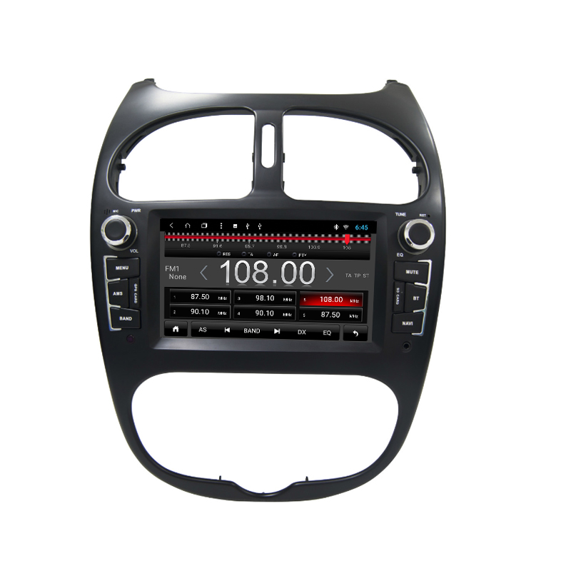 6230 for peugeot 206 car gps radio