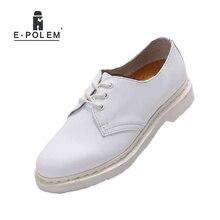 Пояса из натуральной кожи Для мужчин S Белая Свадебная обувь 2017 Демисезонный модные оксфорды Обувь для Для мужчин Туфли без каблуков повседневные ботинки Обувь Кружево до унисекс