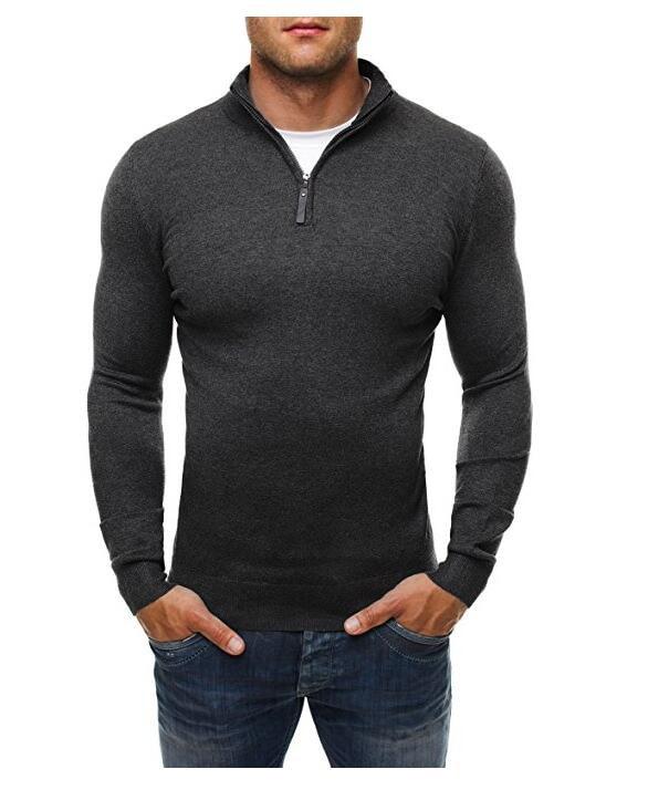 Man V-neck Polo Shirt Mens Casual Summer Slim Fit Cotton Polo Shirt Long Sleeve High Quantity Men's Polo Shirt M-XXXL