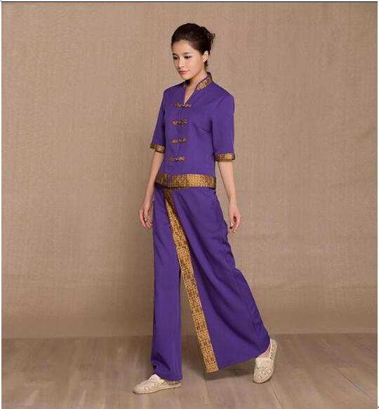 thai spa beauty salon uniforms massage uniform sauna suit On uniform spa thailand