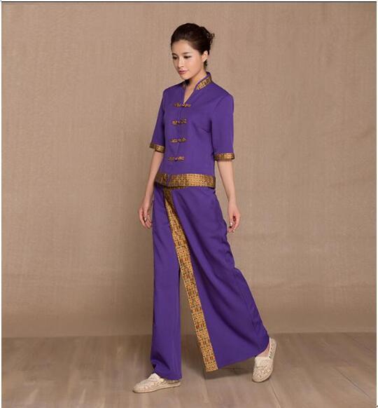 Thai Spa Beauty Salon Uniforms Massage Uniform Sauna Suit