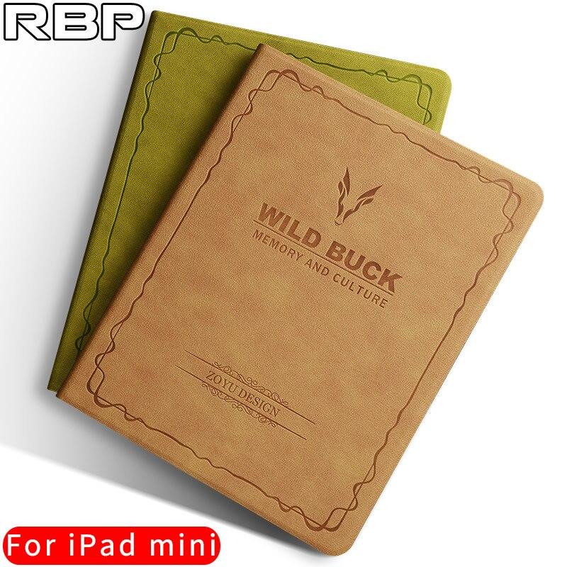 RBP case for iPad mini 2 cover Retro leather case for apple iPad mini 1 2