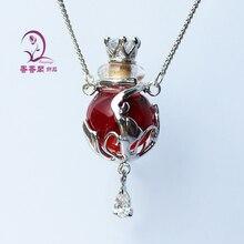 1 шт духи из муранского стекла ожерелье красочный шар, ароматическое украшение, ароматическое ожерелье кулон